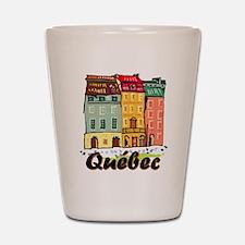 Quebec city Shot Glass