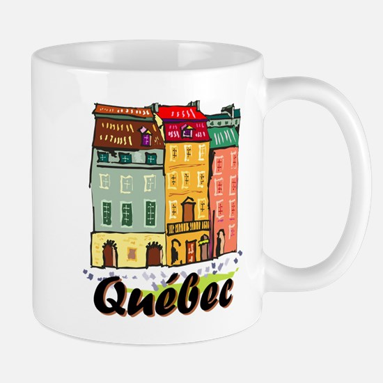 Quebec City Mugs