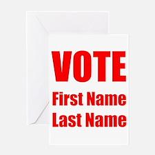 Vote Greeting Cards