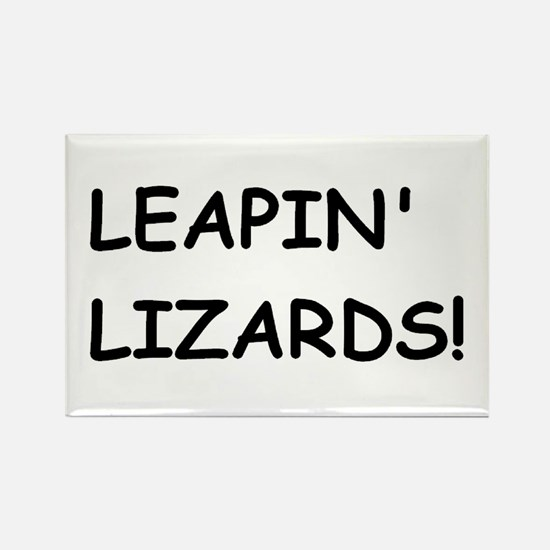 lizards Rectangle Magnet