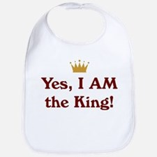 Yes, I AM the King Bib