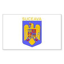 Suceava, Romania Rectangle Decal