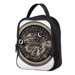 watermeterlidlsepia.png Neoprene Lunch Bag