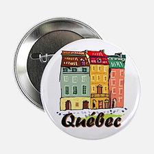 """Quebec city 2.25"""" Button"""