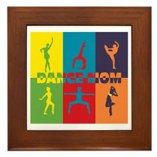 Dance Mom Framed Tile