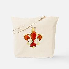 Fleur De Craw Tote Bag