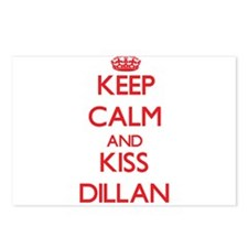 Keep Calm and Kiss Dillan Postcards (Package of 8)