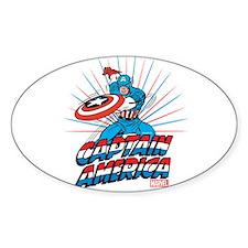 Captain America Decal