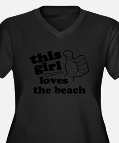 Personalize This Girl Plus Size T-Shirt