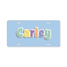 Carley Spring14 Aluminum License Plate