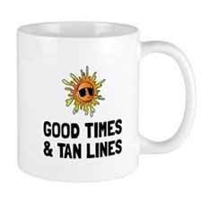 Good Times Tan Lines Mugs