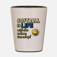 Softball is Life with the Volume Turned Up! Shot G