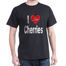 I Love Cherries (Front) T-Shirt