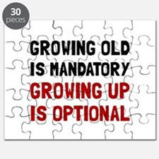 Growing Up Optional Puzzle