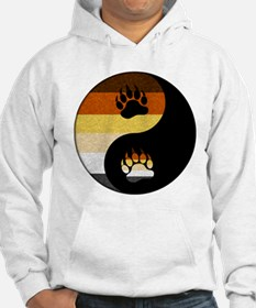 Bear Yin and Yang Hoodie Sweatshirt