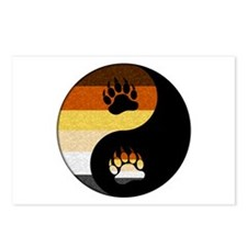 Bear Yin and Yang Postcards (Package of 8)