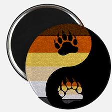 "Bear Yin and Yang 2.25"" Magnet (100 pack)"