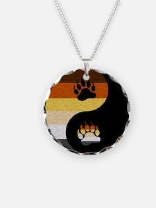 Bear Yin and Yang Necklace