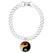 Bear Yin and Yang Bracelet