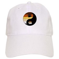 Bear Yin and Yang Baseball Cap