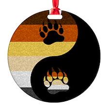 Bear Yin and Yang Ornament