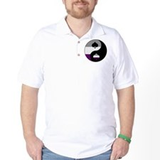 Asexual Yin and Yang T-Shirt