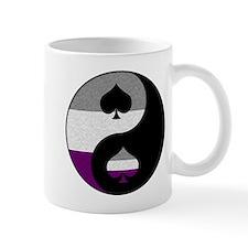 Asexual Yin and Yang Mug