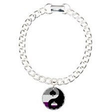 Asexual Yin and Yang Bracelet