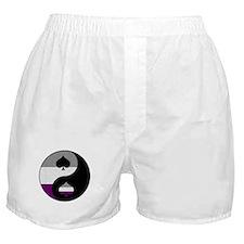 Asexual Yin and Yang Boxer Shorts