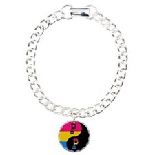 Pansexual Yin and Yang Bracelet