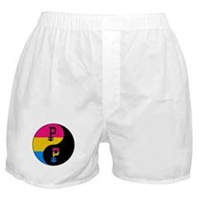 Pansexual Yin and Yang Boxer Shorts