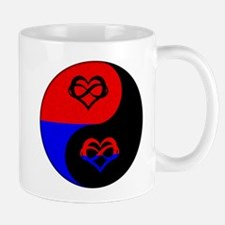 Polyamorous Yin and Yang Mug