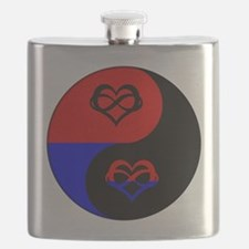 Polyamorous Yin and Yang Flask