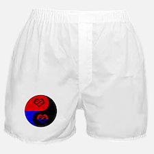 Polyamorous Yin and Yang Boxer Shorts