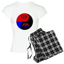 Polyamorous Yin and Yang Pajamas