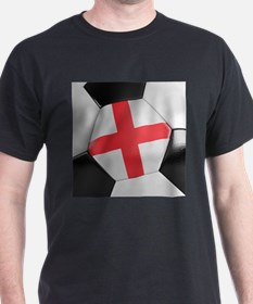 England Soccer Ball T-Shirt