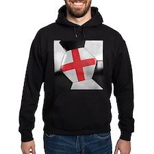 England Soccer Ball Hoody