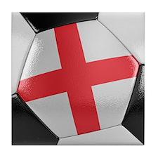 England Soccer Ball Tile Coaster