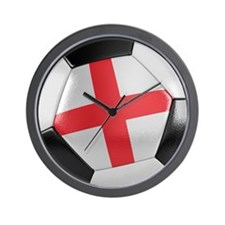 England Soccer Ball Wall Clock