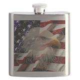 Bald eagle Flask Bottles