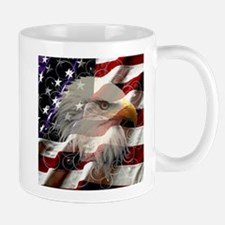 American Eagle Flag Mugs