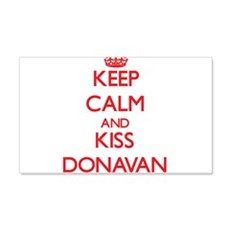 Keep Calm and Kiss Donavan Wall Decal