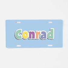 Conrad Spring14 Aluminum License Plate