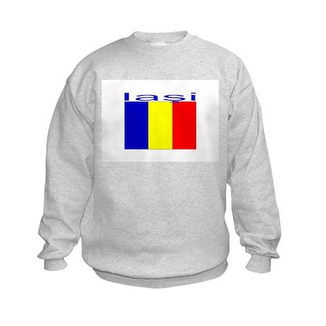 Iasi, Romania Kids Sweatshirt
