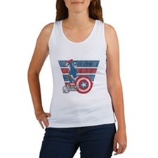 Captain America Women's Tank Top