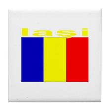 Iasi, Romania Tile Coaster