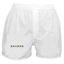 Rainbow Stars Boxer Shorts