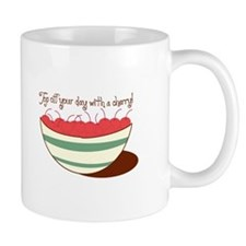 Top Off Your Day With A Cherry! Mugs
