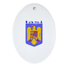 Iasi, Romania Oval Ornament