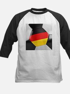 Germany Soccer Ball Kids Baseball Jersey